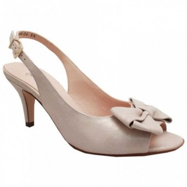 Sling Back Peep Toe High Heel Sandal