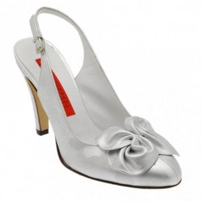 Sling Back Sandal With Bow