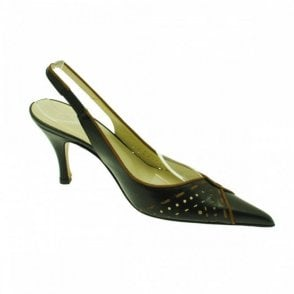 Slingback Shoe With Cut Out Detail