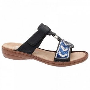 Slip On Adjustable Strap Sandal