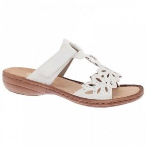 Slip On Open Toe Sandal Adjustable Strap