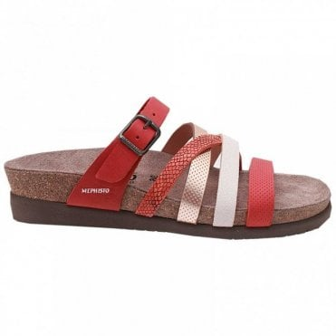 Slip On Sandal With Adjustable Strape