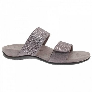 Slip On Sandal With Diamate
