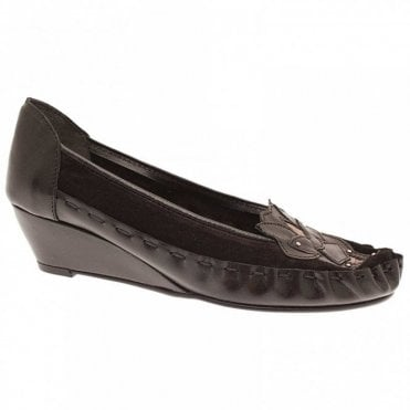 Zaccho Slip On Wedge Ballet Pump