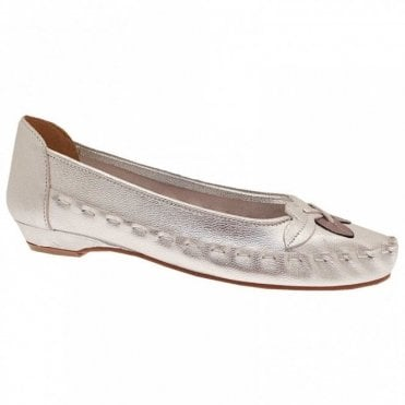 Zaccho Soft Leather Slip On Ballet Pump