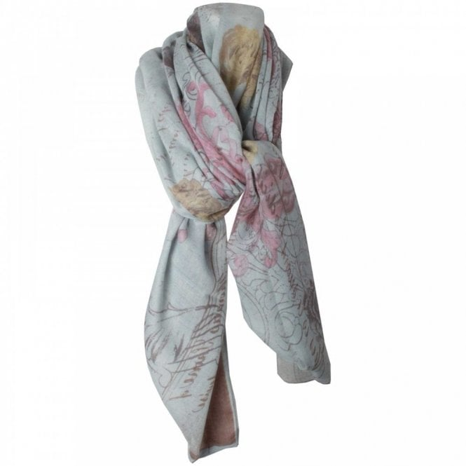 Fraas Square Multi Print Scarf