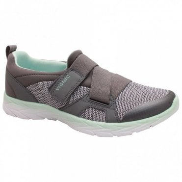 Strap Fasten Slip On Trainer