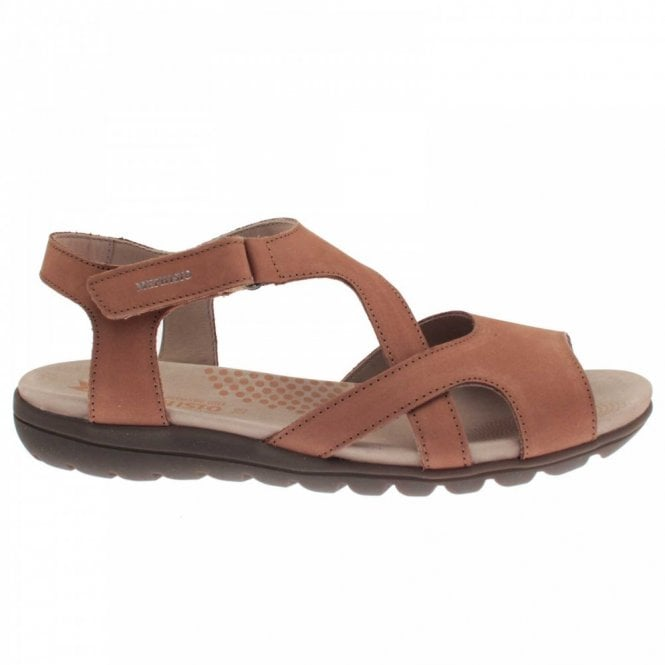 Mephisto Strappy Velcro Fasten Low Sandal