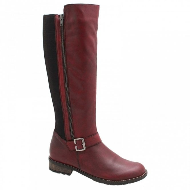 Remonte Stretch Back Long Boot