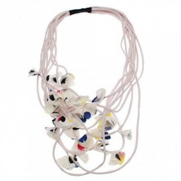 String Petals Layered Necklace