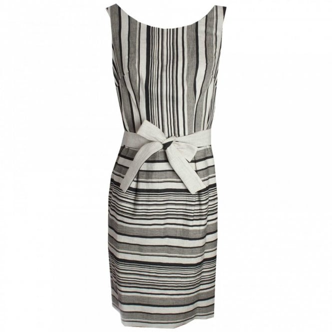 Badoo Stripe Cotton Sleeveless Sun Dress