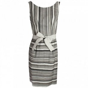 Stripe Cotton Sleeveless Sun Dress
