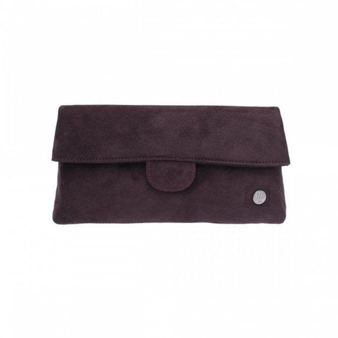 Peter Kaiser Suede Fold Over Handbag