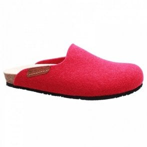 Mephisto Sweety Felt Slip On Slippers