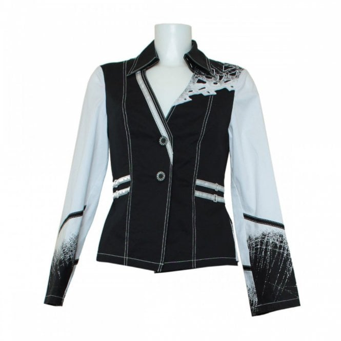 Leslie Tailored Decorative Detail Fancy Jacket