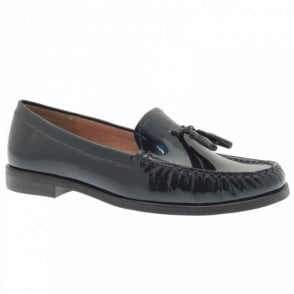 Lisa Kay Tassel Stitch Trim Detail Moccasin Shoe