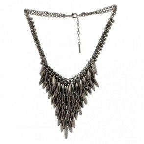 Nour London Tear Drop Waterfall Effect Necklace