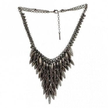 Tear Drop Waterfall Effect Necklace