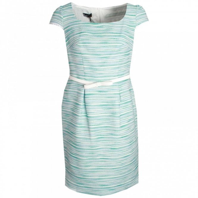 Badoo Textured Dress With Short Sleeves