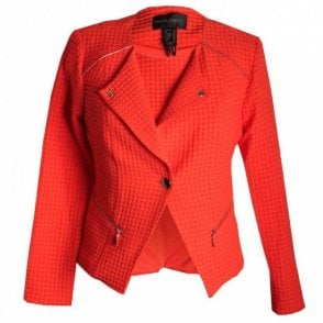 Frank Lyman Textured Long Sleeve Tailored Jacket