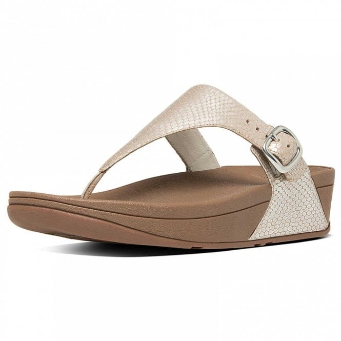 Fitflop™ The Skinny™ Snake Effect T-post
