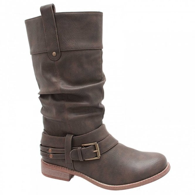 Rieker Three Quarter High Long Boots