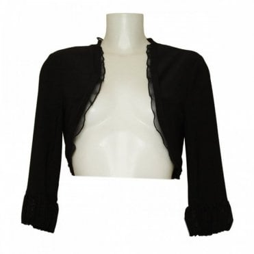 Three Quarter Puff Sleeve Bolero