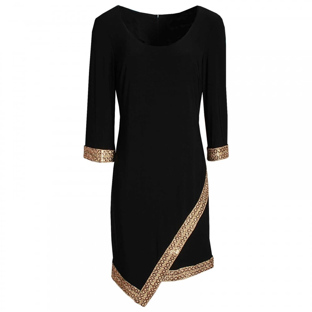 Three Quarter Sleeve Cocktail Dress By Frank Lyman At Walk In Style