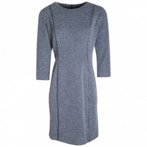 Three Quarter Sleeve Fully Lined Dress