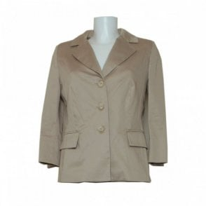 Three Quarter Sleeve Tailored Jacket