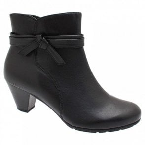 Tiffey Ankle Boot With Side Knot Detail