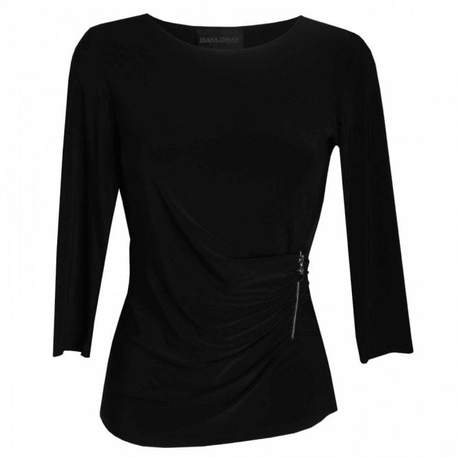 Frank Lyman Top With Diamante Detail