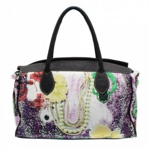 Tropical Print Hoilday Bag