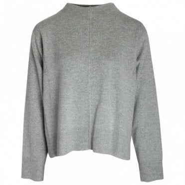 Turtle Neck Long Sleeve Knitted Jumper
