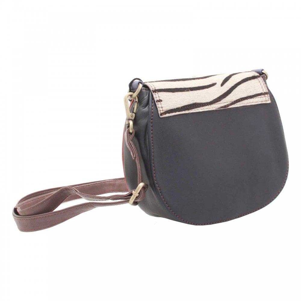 f68175e4942f Upcycled Leather   Animal Print Handbag By Soruka At Walk In Style