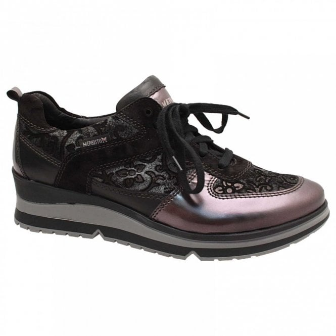 Mephisto Vicky Lace Up Women's Trainers