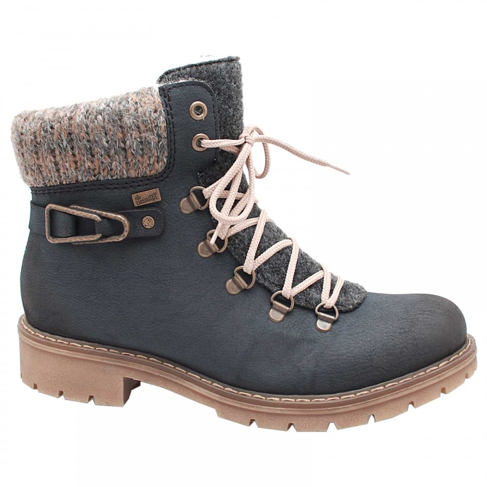 Waterproof Fur Lined Ankle Boot By