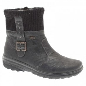 Rieker Waterproof Warm Lined Ankle Boot