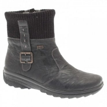 Waterproof Warm Lined Ankle Boot