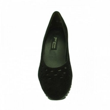 Paul Green Wedge Court Shoe With Cut Out Detail