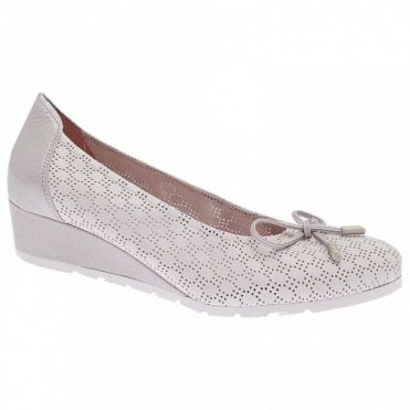 Wedge Slip On Ballet Pump