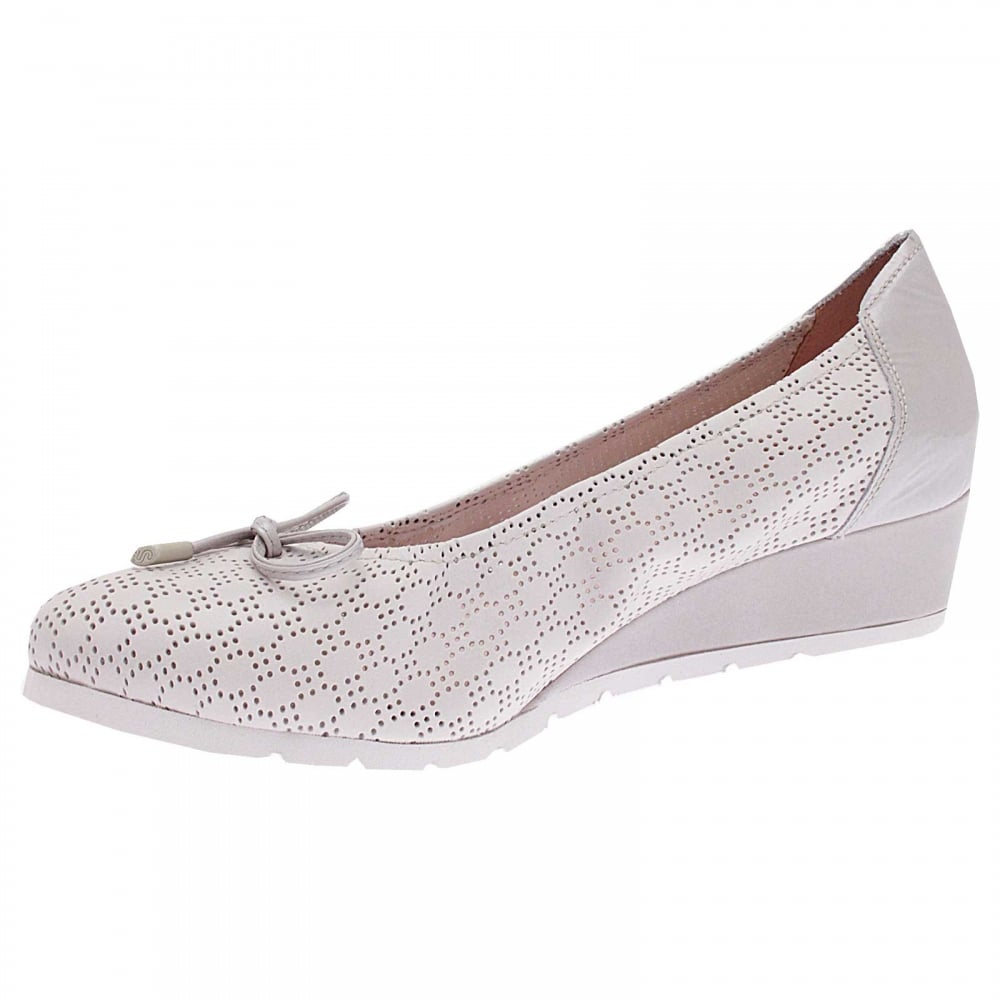 10be3256b8a Wedge Slip On Ballet Pump By Sabrinas At Walk In Style