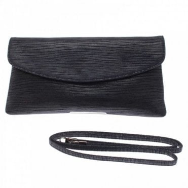 Winema Fold Over Clutch/shld Strap