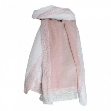 Women's 2 Tone Long Scarf