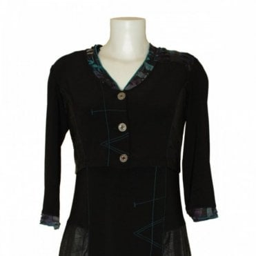 Women's 3/4 Sleeve Button Up Jacket