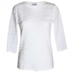 Women's 3/4 Sleeve Cotton Blend Top