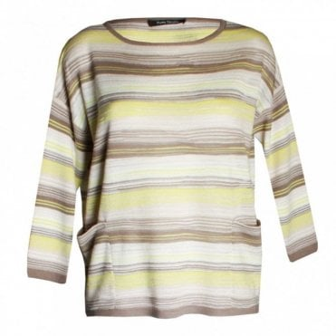 Women's 3/4 Sleeve Knitted Jumper