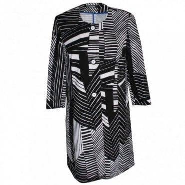 Women's 3/4 Sleeve Long Jacket