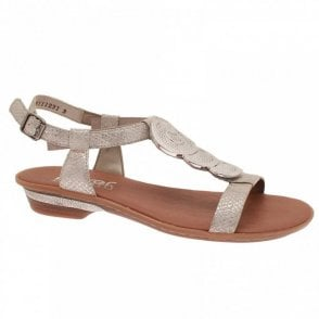 Women's Ankle Strap Low Heel Sandal