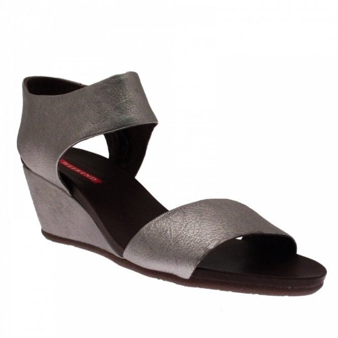 Pedro Miralles Women's Ankle Strap Wedge Sandal